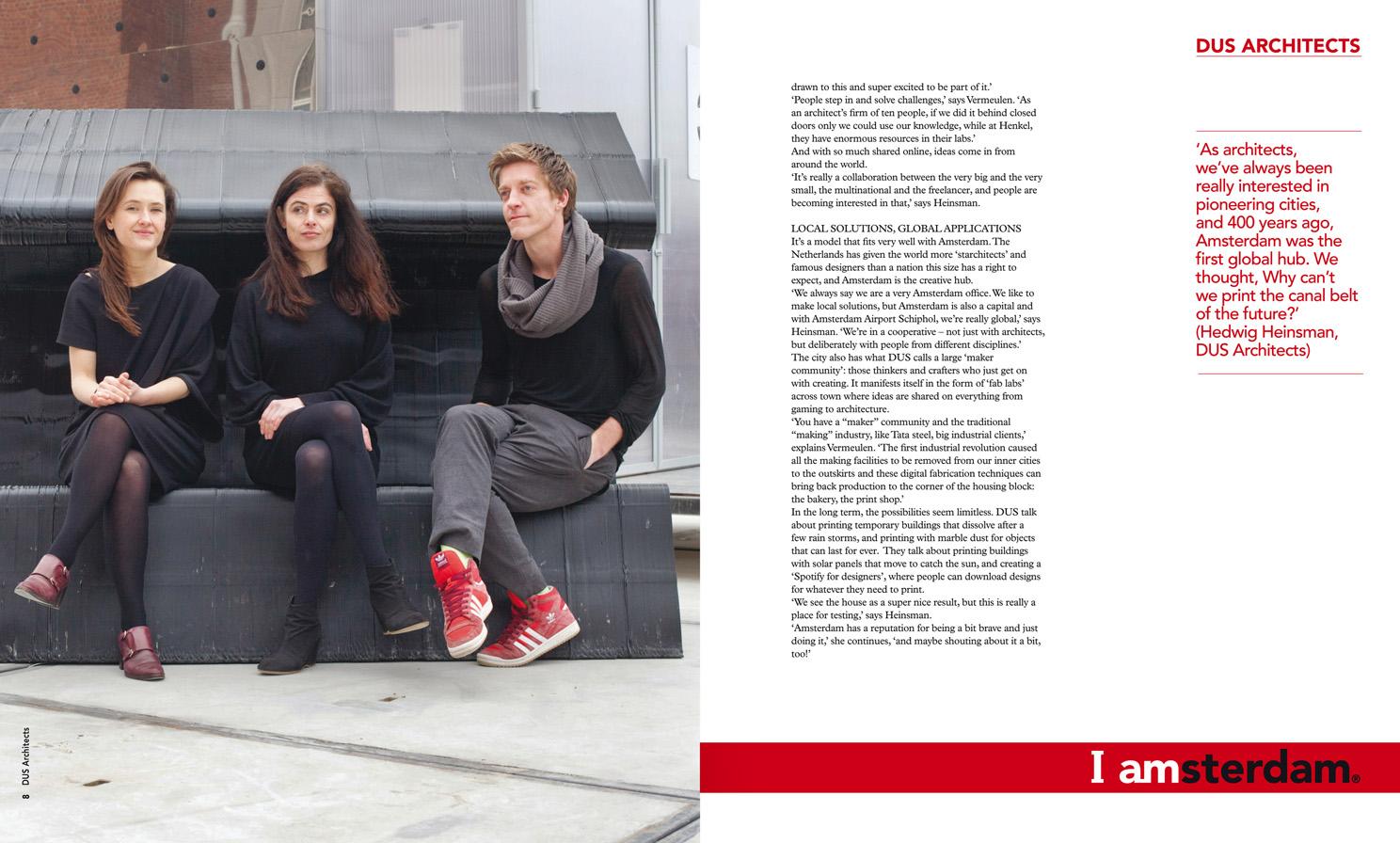 DUS Architects, I AMSTERDAM