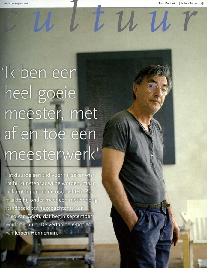Jeroen Henneman, HP/De Tijd
