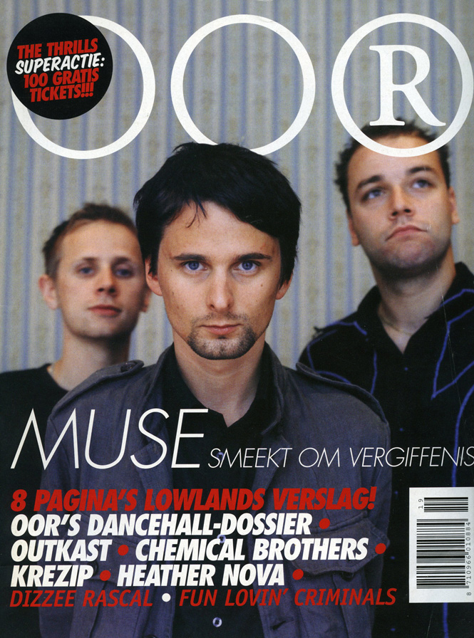 Muse, Cover OOR magazine