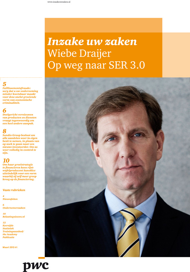 Wiebe Draijer, PwC