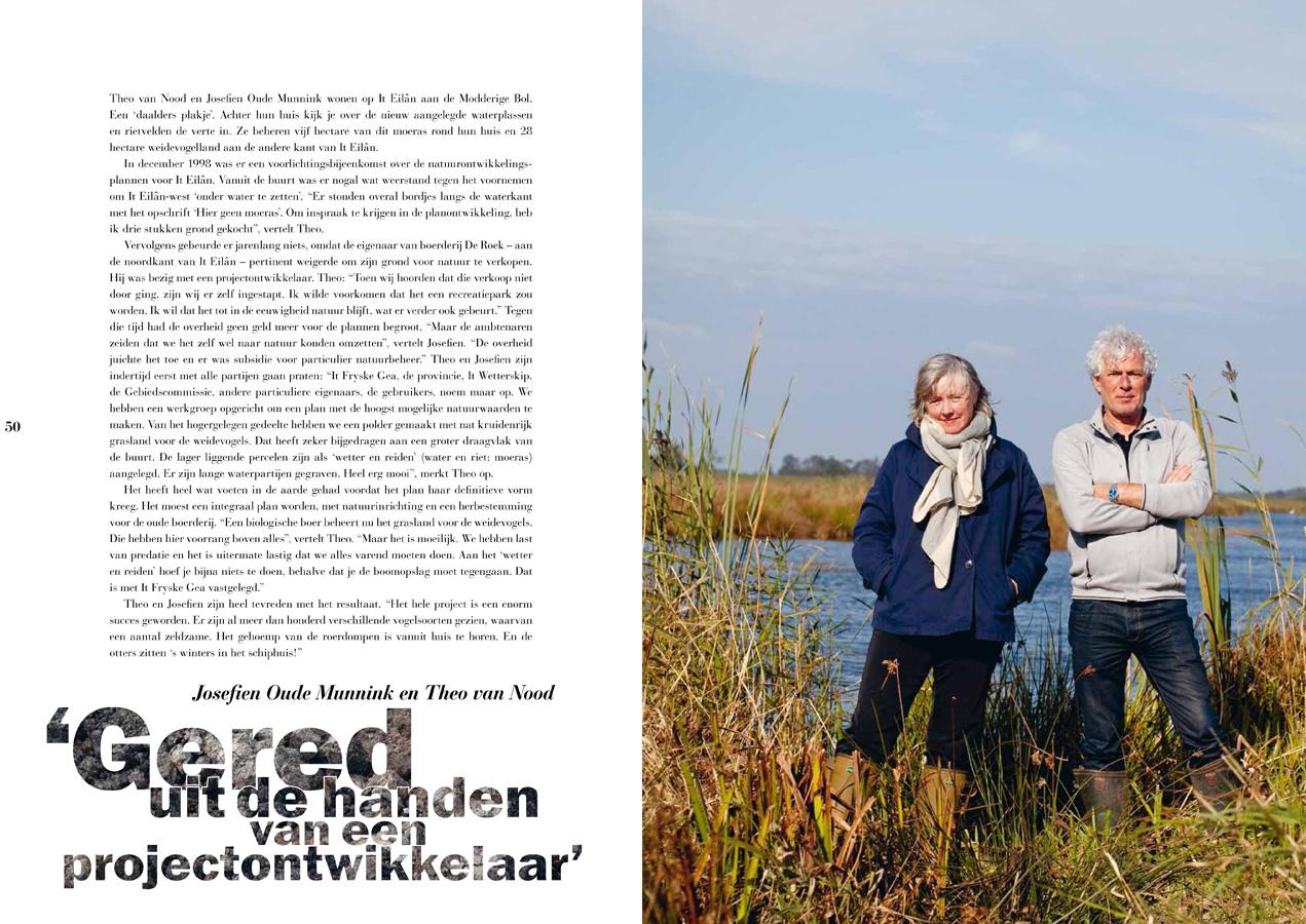 Josefien Oudemunnink en Theo van Nood